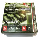Патрон 12/70 др.№0 Mirage T2 Xpert Came Winter (Clever)